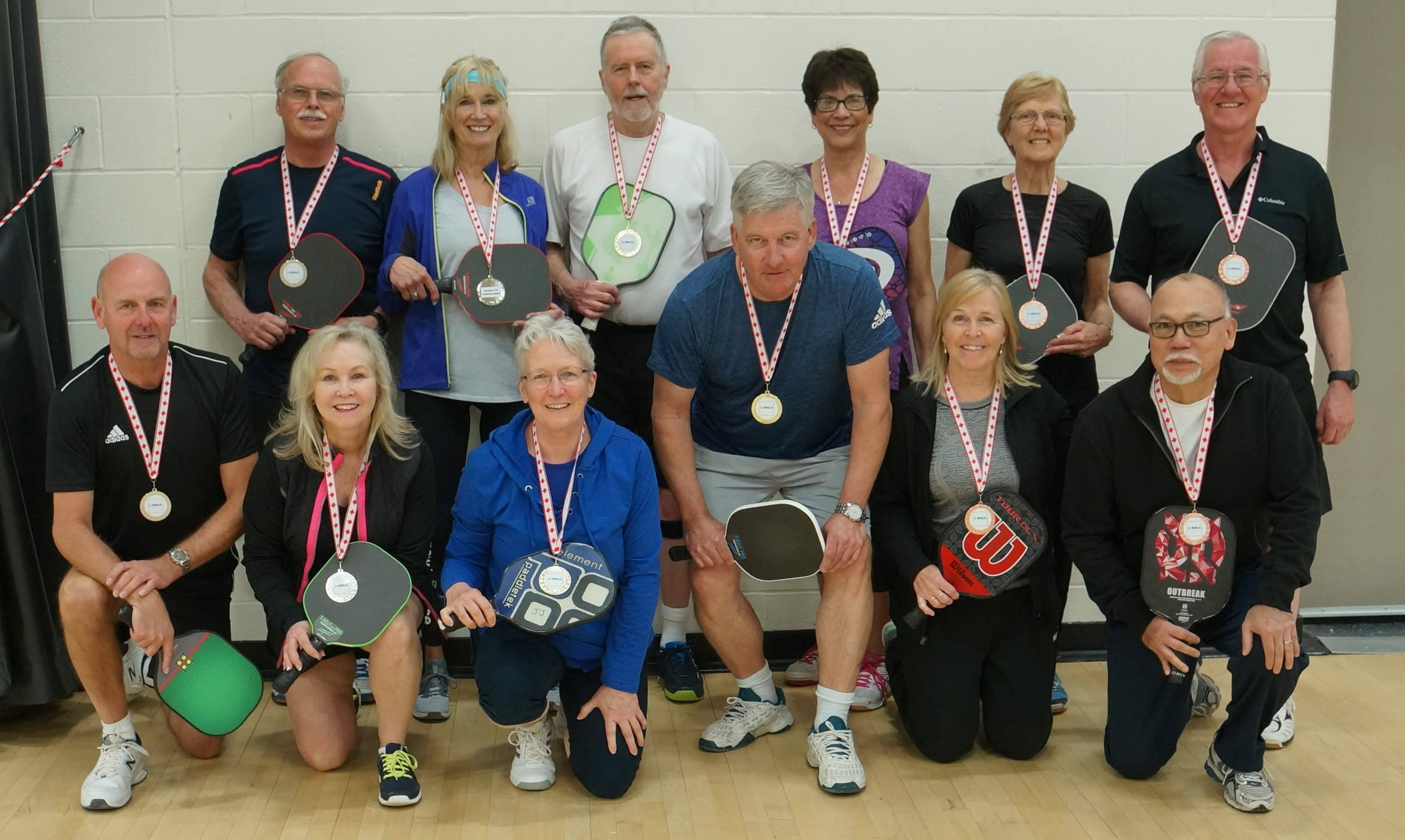 Pickleball Mix 65 plus